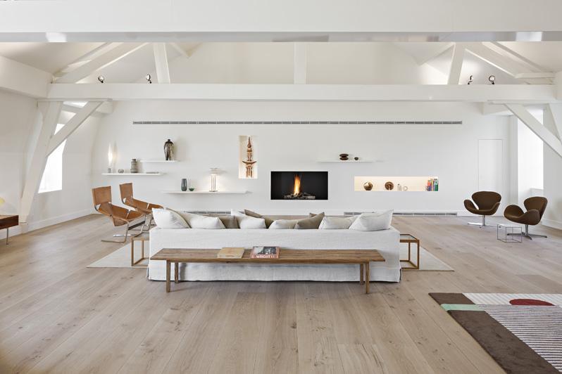 Parket vloeren beautiful wit afgewerkte eiken parketvloer with